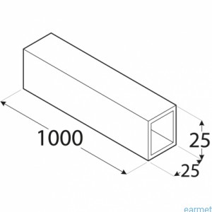 rury kwadratowe aluminiowe